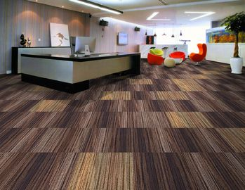 China Indoor Outdoor Carpet Tiles Customized Color Pile Height 2.5-5.5mm supplier