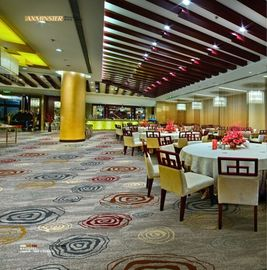 China Restaurant Fire Resistant Carpet 80% New Zealand Wool 20% Nylon supplier