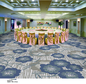 China Indian Style PVC Carpet Flooring / Plastic Floor Covering Carpet Cut Pile supplier