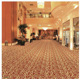 Jacquard PVC Commercial Flooring / Waterproof PVC Flooring Various Color