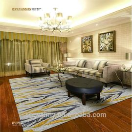 China Comfortable Handmade Woollen Carpet 80% New Zealand Wool 20% Nylon factory