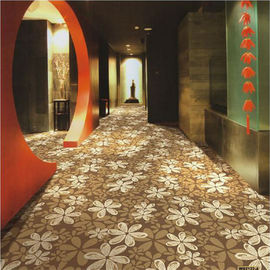 Decorative PVC Commercial Flooring , PVC Self Adhesive Floor Tiles
