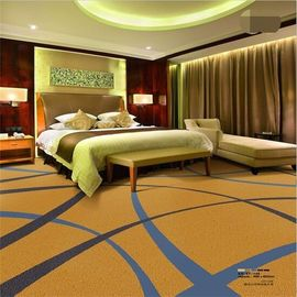 Plain Commercial Grade Tile Flooring 80% Wool 20% Nylon Natural Designs